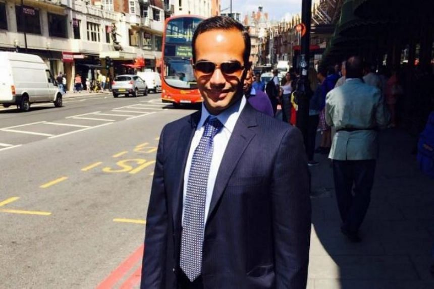 George Papadopoulos pleaded guilty in October to lying to FBI agents and is scheduled to be sentenced on Sept 7.