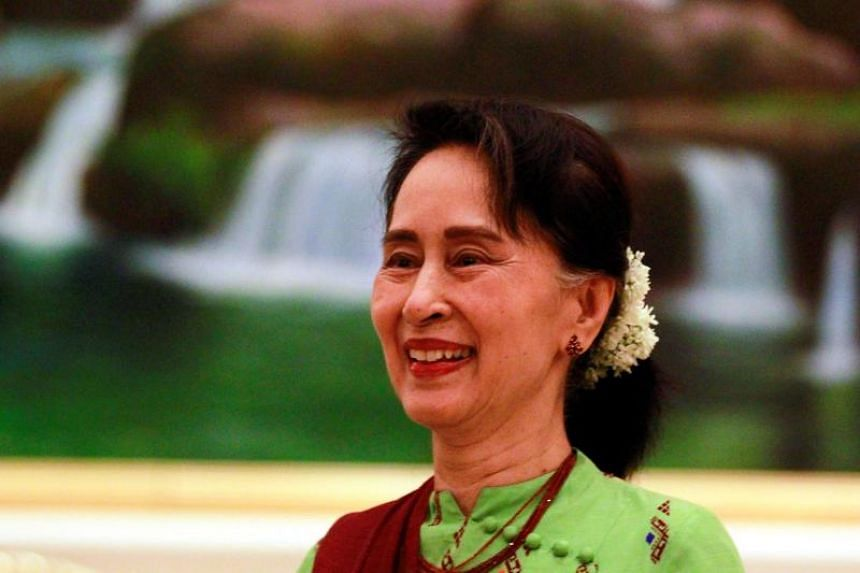 Myanmar's state counsellor Aung San Suu Kyi will be at the Istana on Aug 21, 2018.