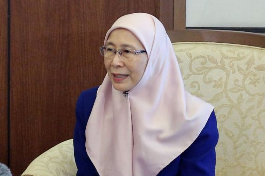 """Malaysia's Deputy Prime Minister Wan Azizah Wan Ismail downplayed Tun Dr Mahathir's remarks, saying that the water issue is """"nothing new"""" and has been ongoing for decades."""
