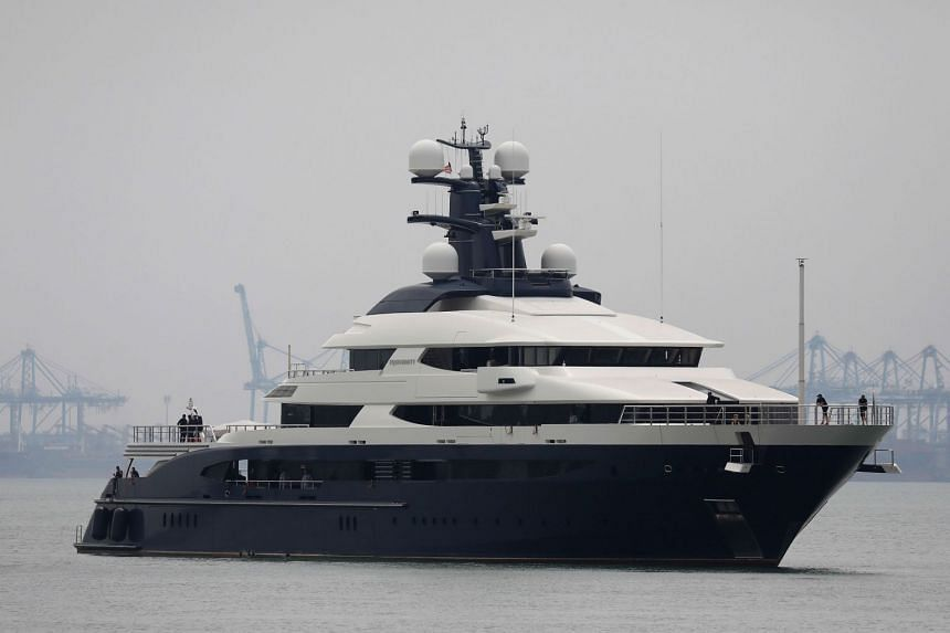 """The """"Equanimity"""" arrived at a port in the outskirts of Kuala Lumpur on Aug 7, 2018."""