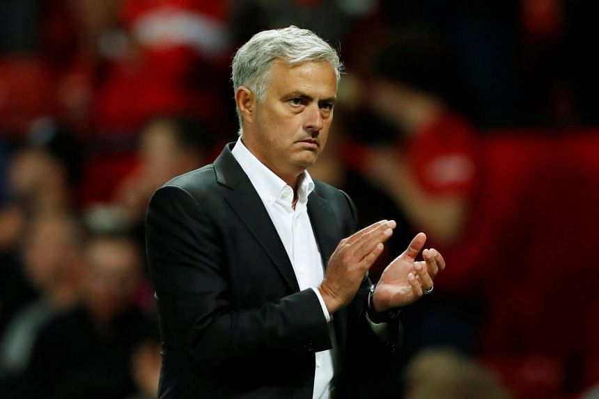 """Jose Mourinho said he has not seen the movie, but knew """"a few things"""" about it."""