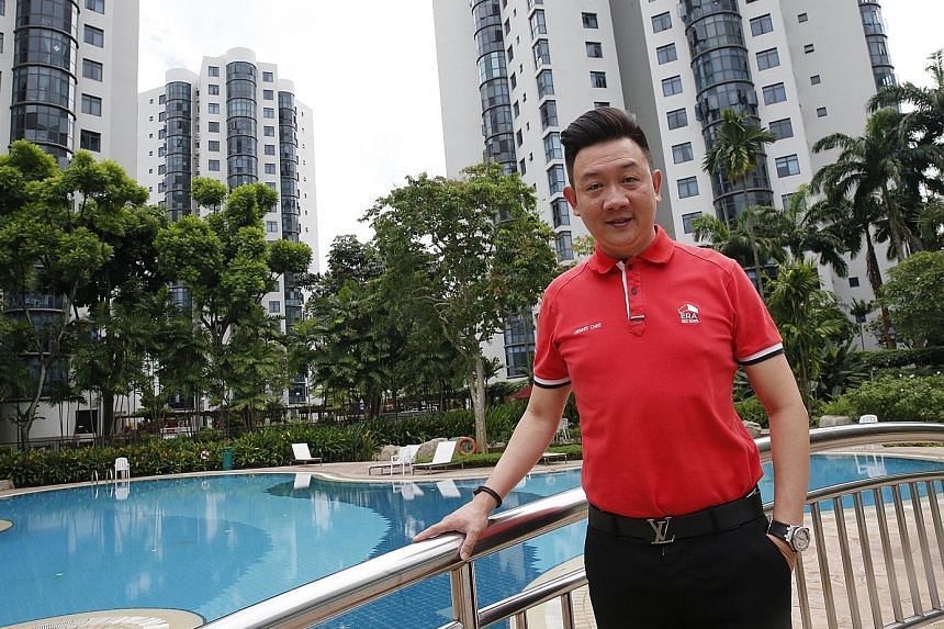"""ERA group division director Dennis Chee's home is a Parc Oasis condo unit he bought in 2016. On his overall investment strategy, Mr Chee says: """"Be it property or other types of investment, it is important to get the basics of investing right. Do thor"""