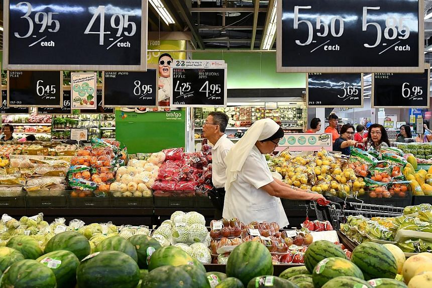 Food prices in Singapore have indeed increased - with the index up by 6.8 percentage points from 2014, according to the consumer price index generated by the Singapore Department of Statistics.