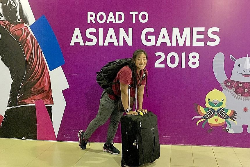 Joan Poh's bags are packed and she's ready to row - ready for Tokyo 2020 even, looking ahead to the Olympics as the ultimate goal.
