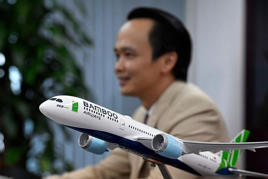 Chairman Trinh Van Quyet of FLC Group, which plans to launch new Vietnamese airline Bamboo Airways. Myanmar Airways International, one of seven carriers in Myanmar, where the market is hit by overcapacity. Cambodia Airways is one of the newest airlin