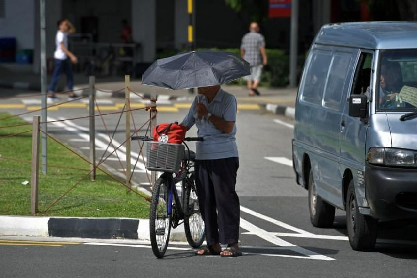 The number of elderly pedestrians injured increased slightly by 0.8 per cent to 119, from 118 in the same period last year.