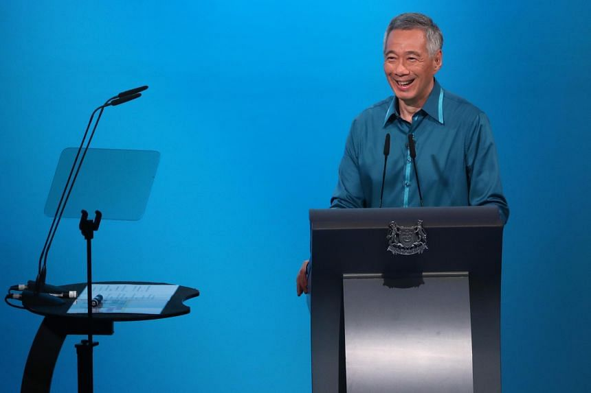 Prime Minister Lee Hsien Loong's speech highlighted challenges faced by Singapore at home and abroad such as trade tensions, cost of living pressures, and in healthcare and housing.