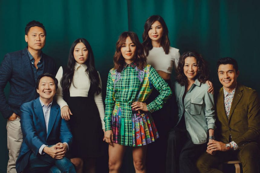The cast of Crazy Rich Asians. The US romantic comedy-drama film is breaking all expectations at the box office.