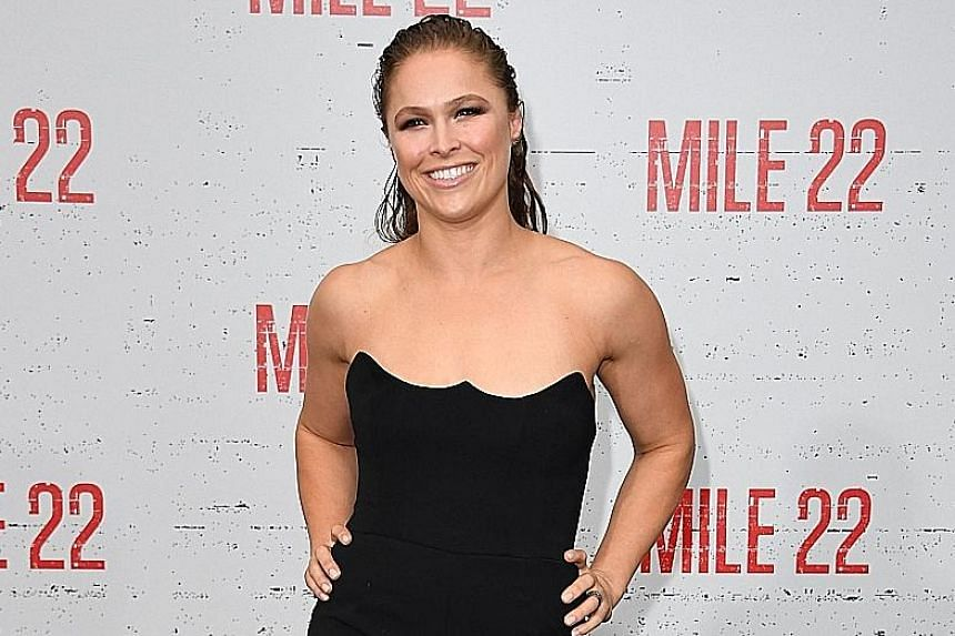 Ronda Rousey gets her first major action role in Mile 22, playing a CIA operative.