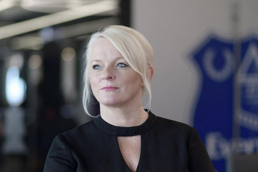 Denise Barrett-Baxendale, Everton's chief executive officer, is just the second woman to lead an EPL club.