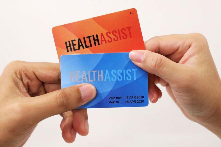 Community Health Assist Scheme cards.