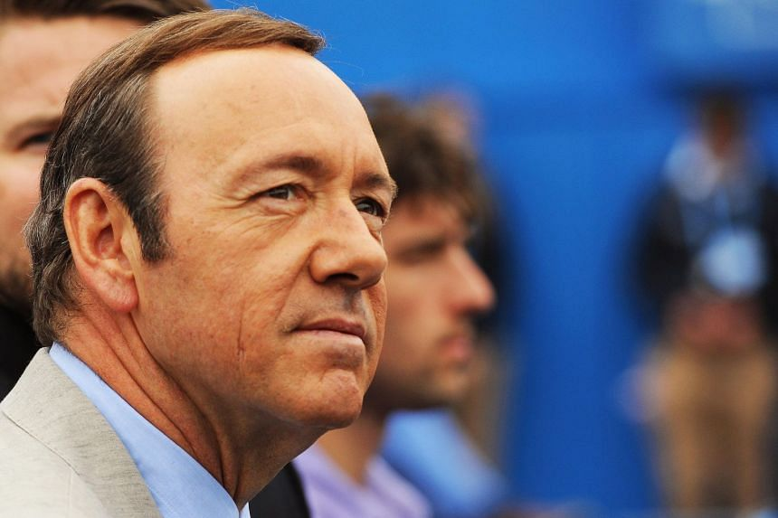 File photo showing US actor Kevin Spacey, whose Billionaires Boys Club film opened at a disastrous US$126 at the box office.