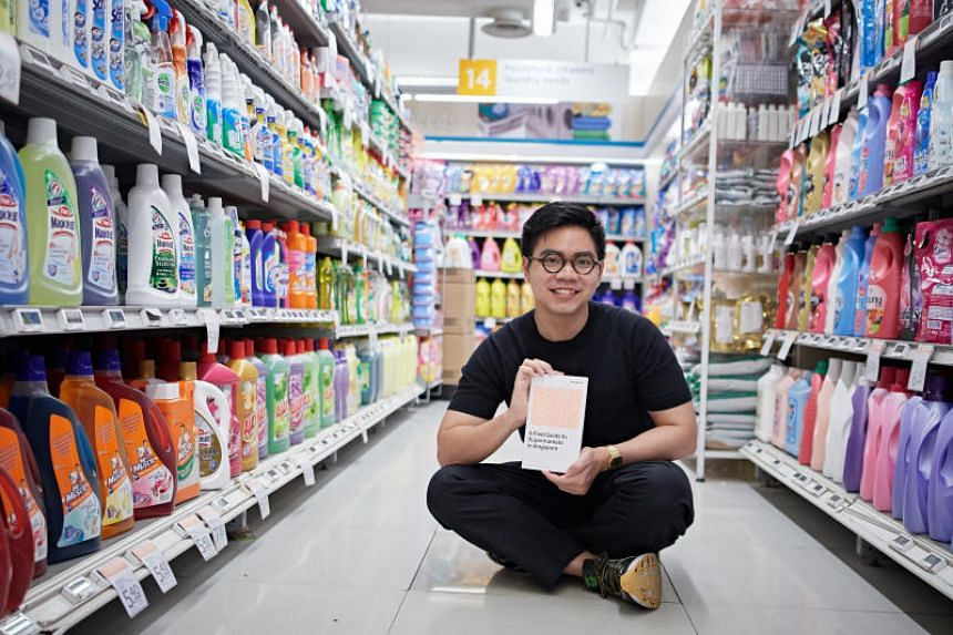 Supermarkets feature in poet Samuel Lee's debut collection A Field Guide To Supermarkets In Singapore (2016), which received the Singapore Literature Prize for English poetry earlier this month.