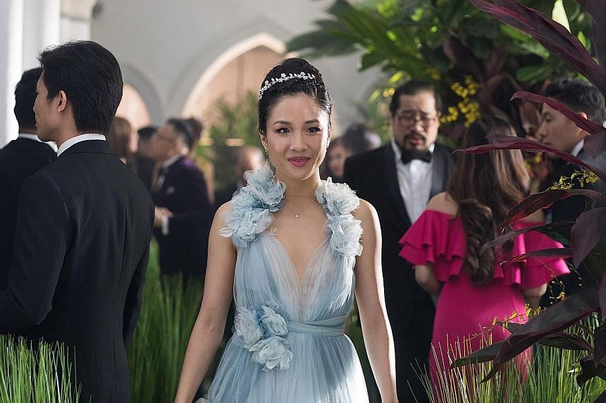Crazy Rich Asians stars Constance Wu.