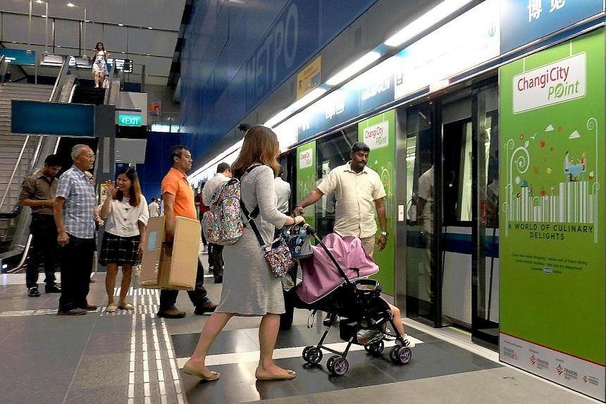 Commuters on the Downtown Line. A consortium comprising engineering giant Siemens, which supplied the signalling system for the Downtown Line, and local company ST Engineering Electronics clinched the $18.8 million contract to develop the system.