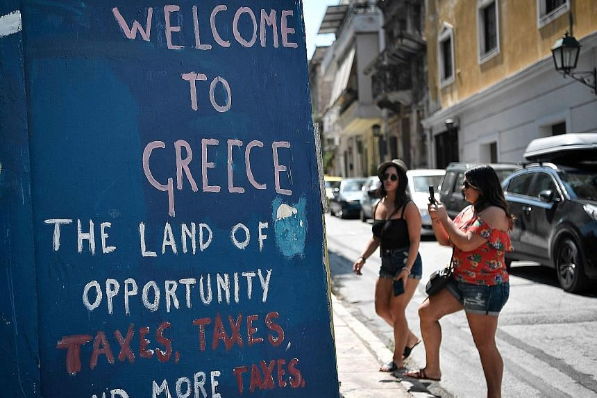 Unpopular economic reforms brought Greece to its knees, with a quarter of its gross domestic product evaporating over eight years and unemployment soaring to over 27 per cent.