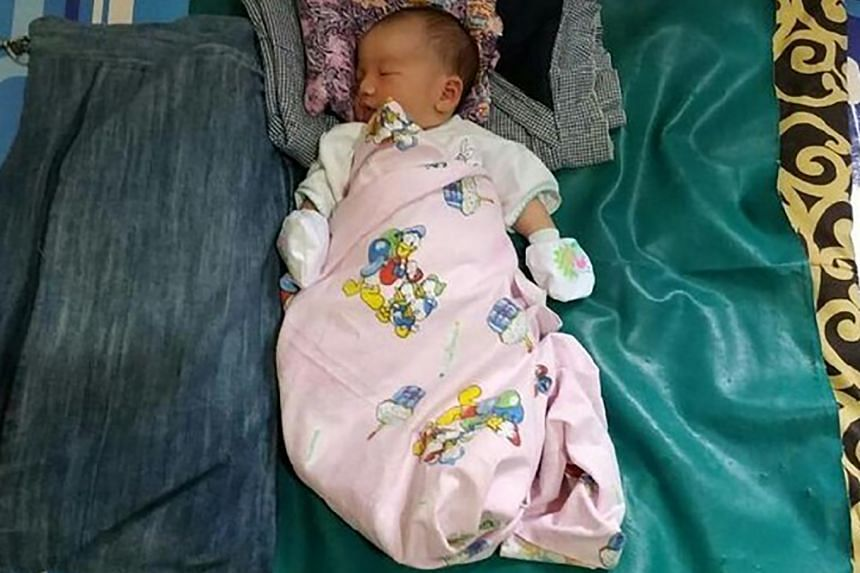 A newborn baby in Palembang was given the unique name, Abidah Asian Games, in hopes that she might become a professional athlete in future.