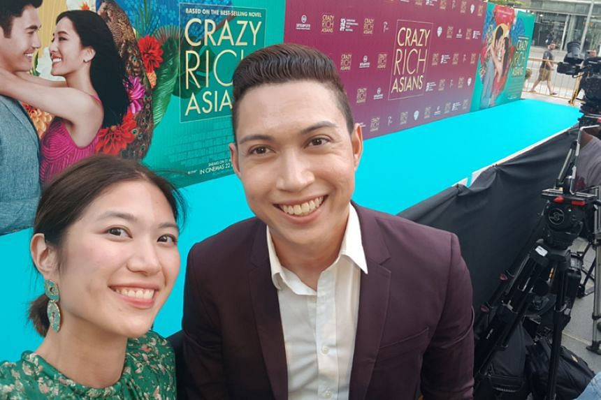 Hangout with ST hosts Alyssa Woo and Hairianto Diman will go live at Capitol Theatre and speak to the stars as they walk down the red carpet.