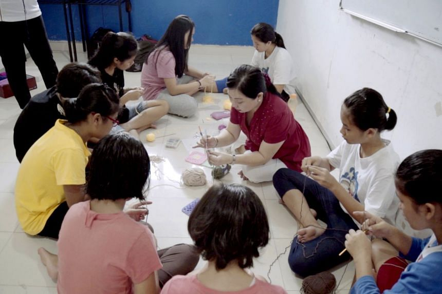 Elizabeth Phua and her team of 25 volunteers have offered a baking programme, a Zumba class and music lessons to other underprivileged children in Batam.