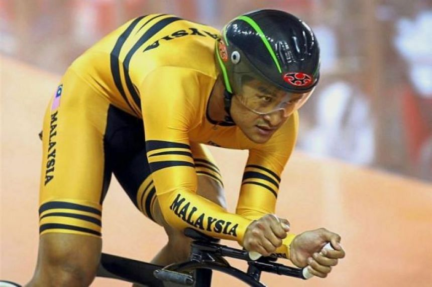 Former Malaysian cyclist Rizal Tisin finished seventh in the team sprint event at the 2008 Beijing Olympics.