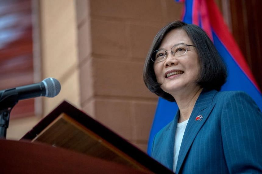 "Taiwan President Tsai Ing-wen said she had ""demonstrated Taiwan's determination for the value of freedom and democracy"" during talks with heads of states."