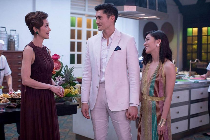 (From left) Michelle Yeoh, Henry Golding and Constance Wu star in Crazy Rich Asians. The film has just opened in Singapore and will roll out across the rest of Asia in the coming weeks.