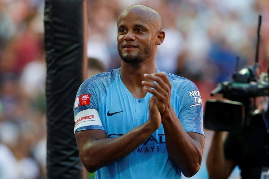 47d6adc36 Football  Manchester City captain Vincent Kompany wants to extend his stay  at the Etihad