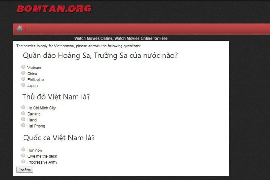 Vietnamese website taunts Chinese drama fans with South