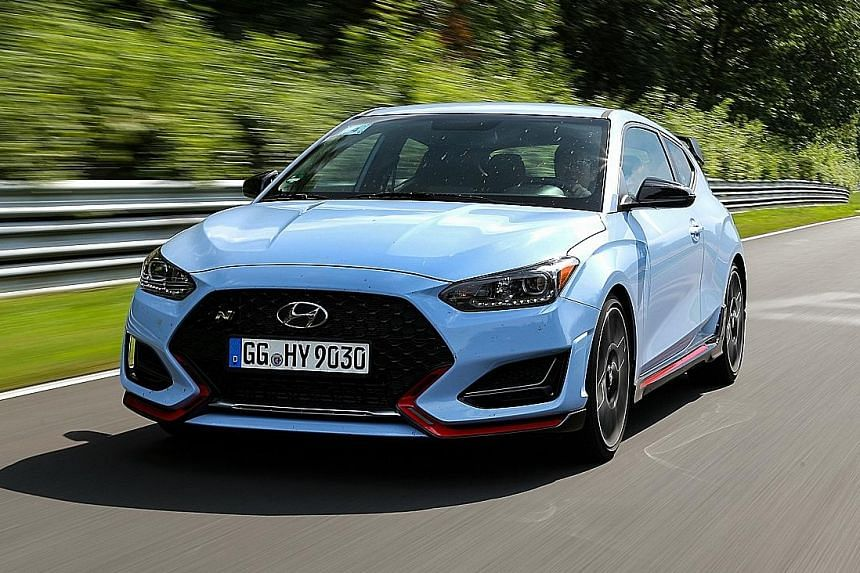 Hyundai Veloster N an edgy sportster, Lifestyle News & Top