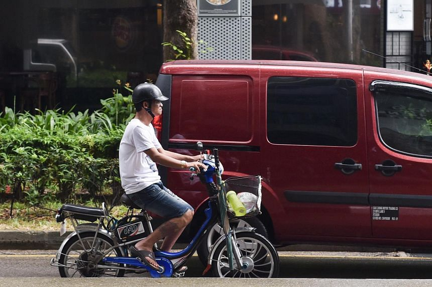 The Active Mobility Advisory Panel suggested the compulsory use of helmets in its recommendations on how cyclists and users of personal mobility devices should behave.