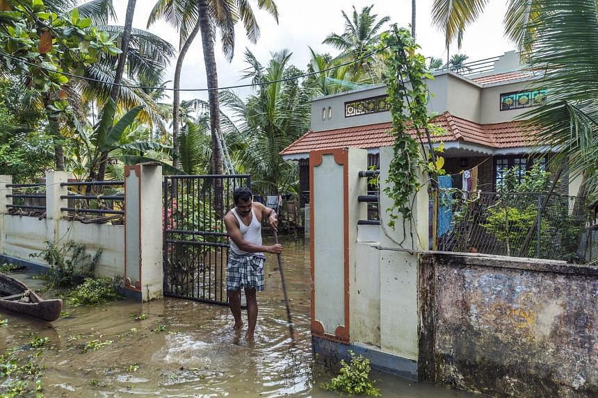 A local snake expert in flood-hit Kerala has advised returning residents to use a stick to sift through their belongings in case of snakes.