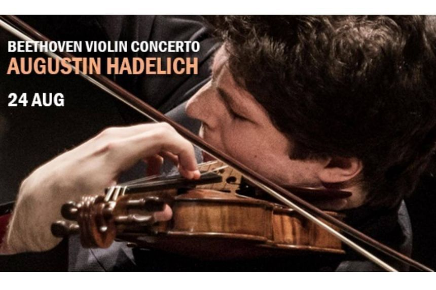 Concert review: Violinist Hadelich impressed but concert was