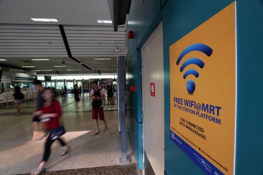 Most Wireless@SG hot spots are in public areas with high footfall including MRT stations, hawker centres, community centres, libraries and government buildings. With an average speed of over 30Mbps, Wireless@SG connection is faster than 4G speeds, wh