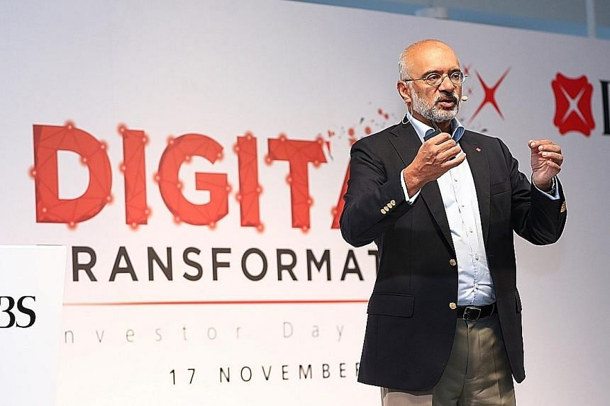 """DBS chief executive officer Piyush Gupta said the accolade for the bank from Global Finance magazine shows how """"Singapore punches above its weight"""". DBS is the first Asian bank to be named world's best bank by the magazine."""