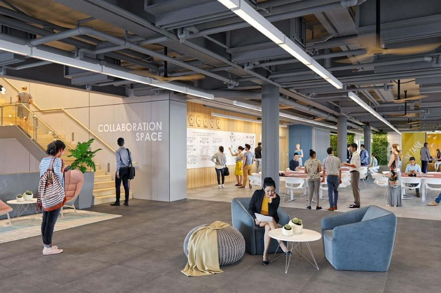 Collaboration spaces are strategically located on levels 3 and 4, and are designed to have different sitting configurations and settings to suit a variety of uses.