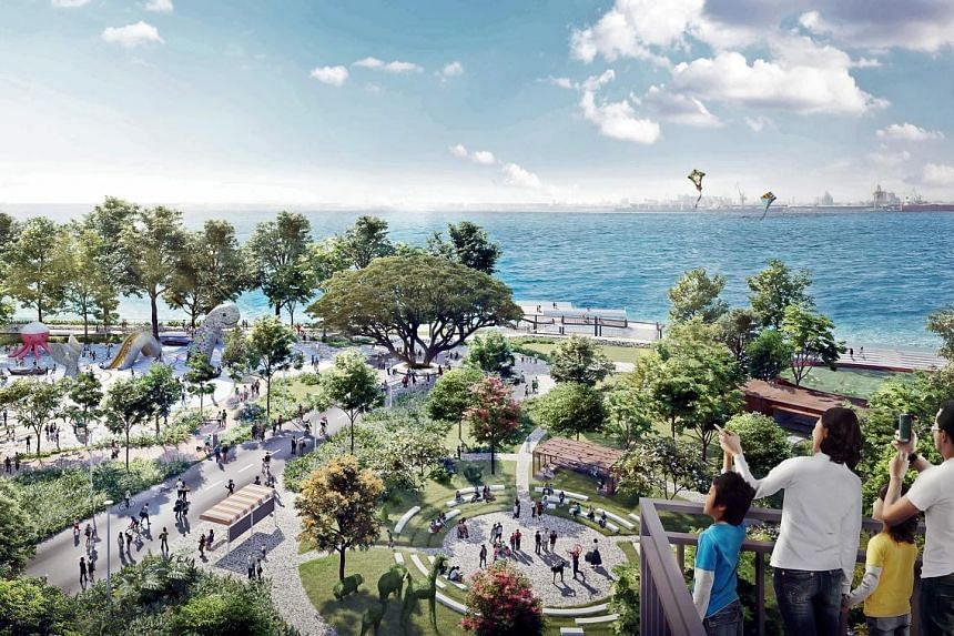 An artist's impression of the new Punggol Point and jetty. The HDB announced two Build-To-Order housing projects in the new Punggol zone: the 1,172-unit Punggol Point Cove and 940-unit Punggol Point Woods which are expected to be completed by 2023.