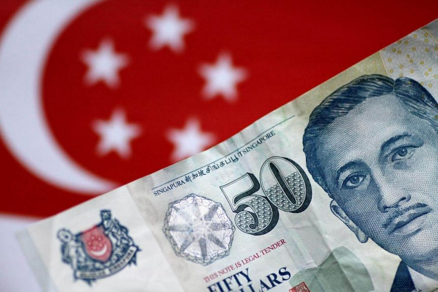 The Singapore dollar last week reached a record high against a basket of major trading partners' currencies, based on HSBC Holdings' model of the Monetary Authority of Singapore's managed float system.