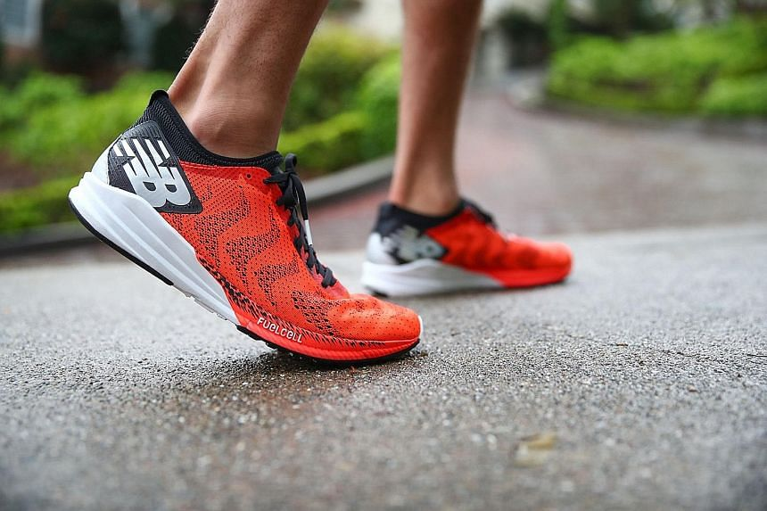 The FuelCell Impulse strikes the right balance between cushioning and responsiveness.