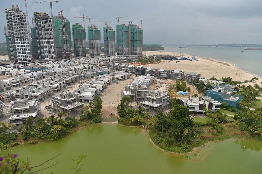 The US$100 billion (S$136 billion) Forest City, which comprises apartment blocks, landed houses, office towers, hotels and shopping centres, is meant to eventually have 700,000 residents.