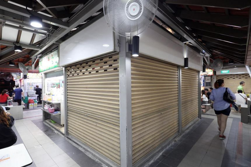 The tender bid was made in July by Ms Lim Ah Ber for $10,028 a month to rent a stall in popular food haunt Chomp Chomp Food Centre to sell drinks.