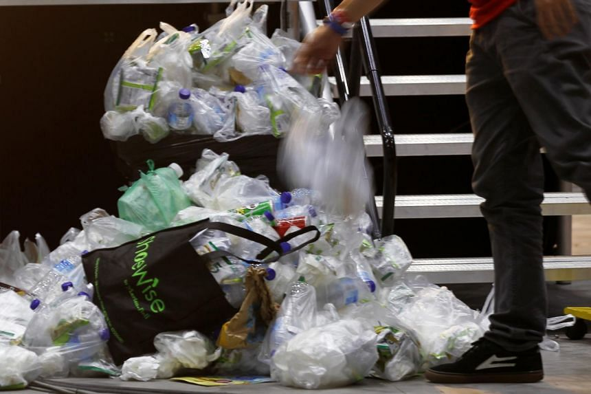 Singapore uses at least 1.76 billion plastic items a year, or almost one item per person per day. The bulk of these are plastic bags taken from supermarkets.
