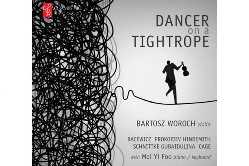 In Dancer Of A Tightrope, composer Sofia Gubaidulina revisited all the avant-garde cliches of the late 20th century.