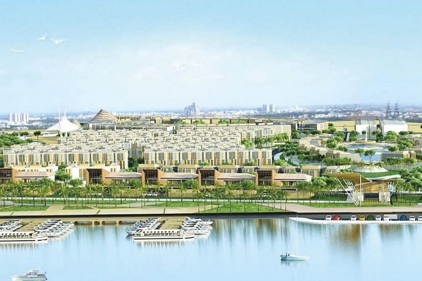 Artist's impression of CapitaLand's new landed residential development to be built on the site in Ho Chi Minh City's District 2.