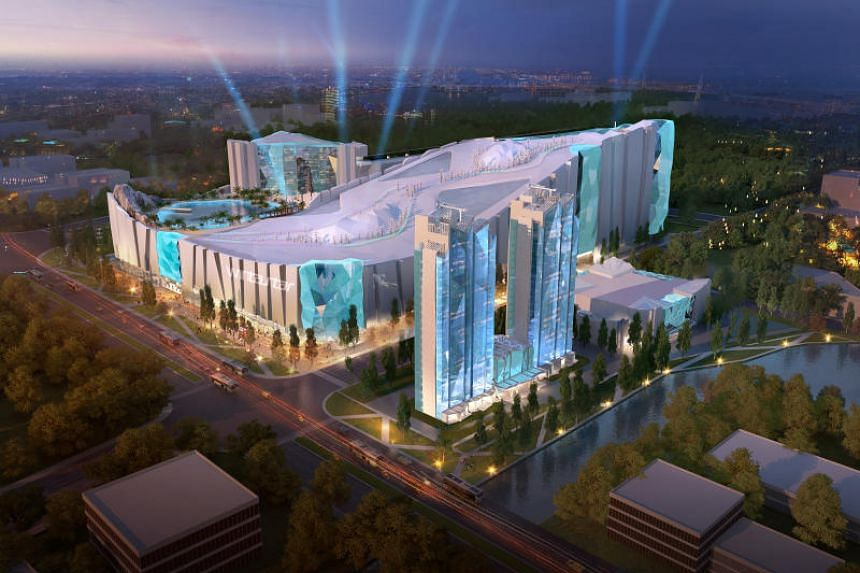 Wintastar Shanghai is a multibillion-renminbi integrated resort slated to open in 2022.