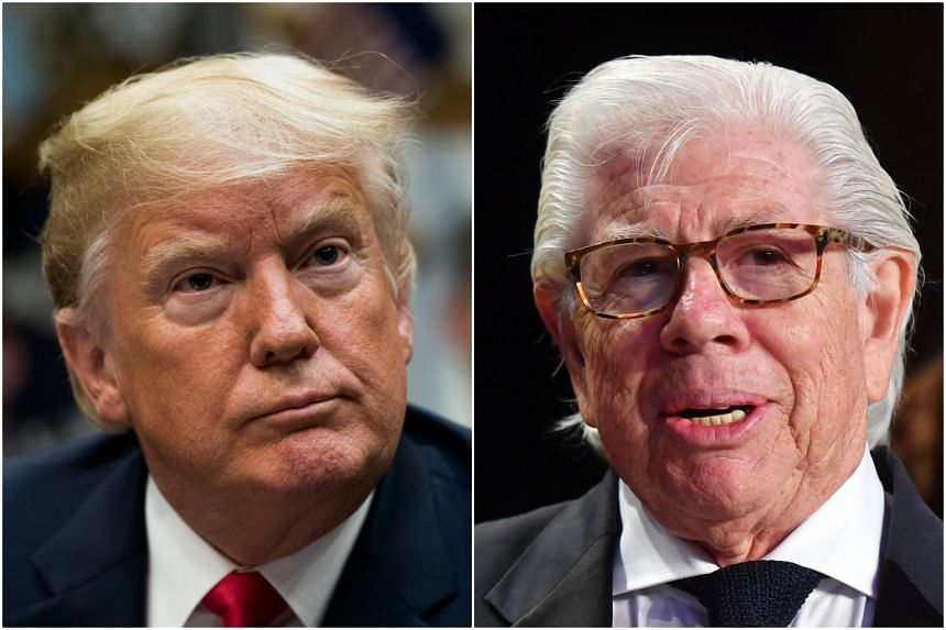 US President Donald Trump has accused Mr Carl Bernstein of making up stories. Mr Bernstein was one of the reporters on a recent CNN story that has been called into question after a source recanted.