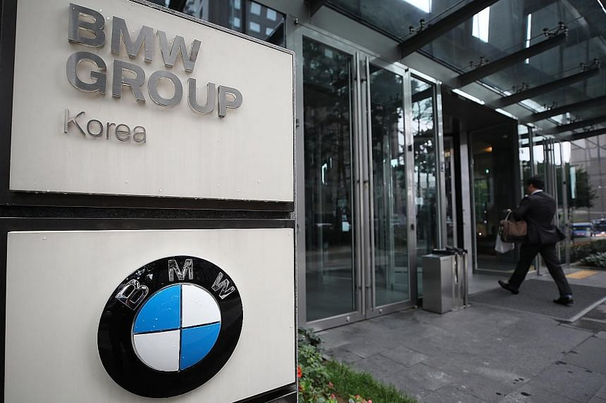 Police raided the main office of BMW Korea in Seoul to probe whether the company hid vehicle defects that led to dozens of engine fires in South Korea.