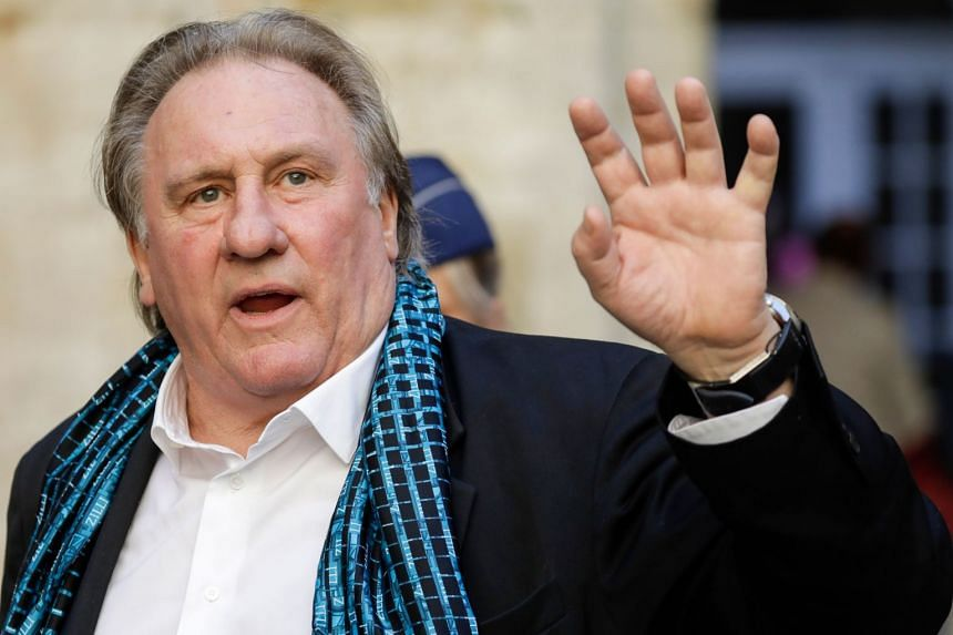 Depardieu arriving for a ceremony as part of the Brussels International Film Festival in June 2018.