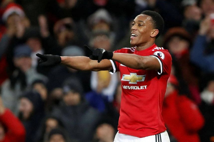 If Anthony Martial signs his new deal, which is worth about £130,000 (S$231,000) a week, it will be a blow to Mourinho, who has had a difficult relationship with him.