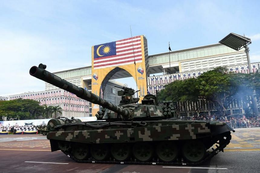 The last time Malaysia's National Day parade took place in Putrajaya was in 2005.