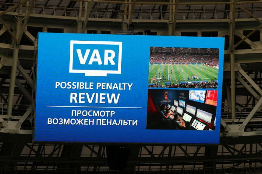 European football's governing body has so far resisted implementation of the VAR system, which allows key incidents to be reviewed with the use of video replays and was used at the World Cup in Russia.